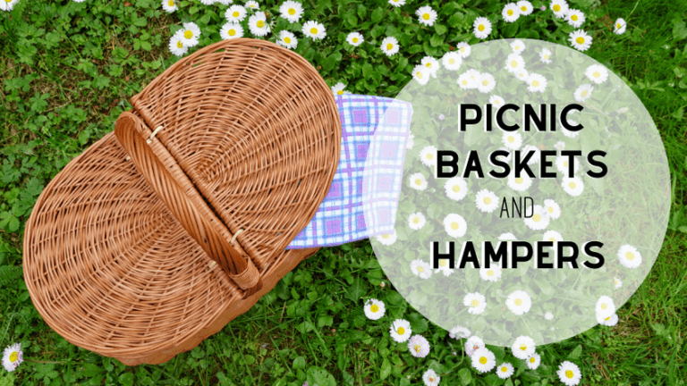 picnic baskets and hampers