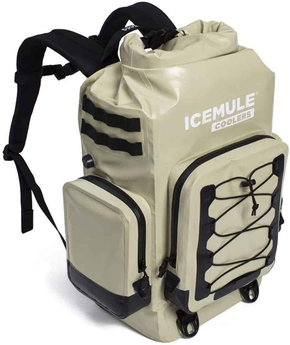 """IceMule Coolers - """"The BOSS Premium Portable Outdoor Cooler & Backpack, 30 Liters- Sand"""