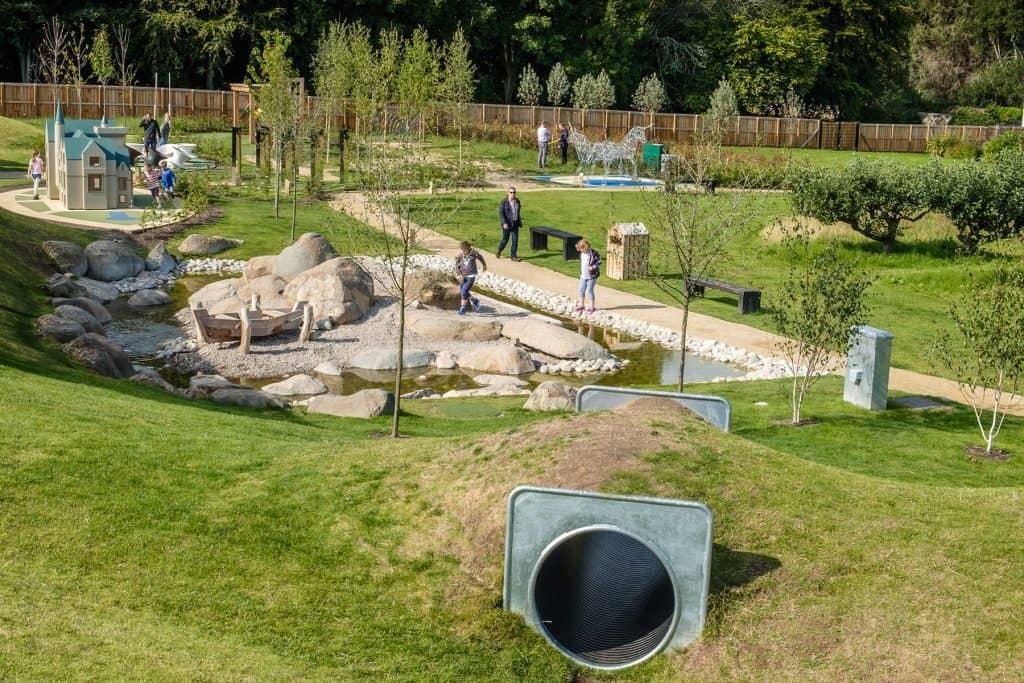 the playful garden brodie castle scotland