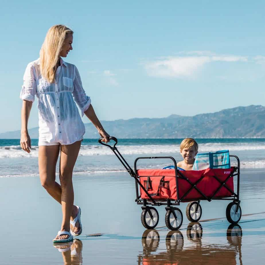 best beach trolley for the family