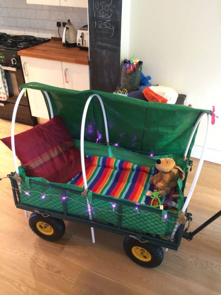 how do i decorate my festival trolley? create a home from home